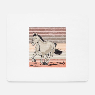 Galop Horse galop Used look retro - Muismatje (landscape)