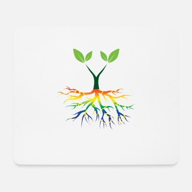 Nature Conservation Nature - Rainbow - Conservation - Roots - Mouse Pad