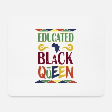 Skin Color Black Queen black skin color racism protest - Mouse Pad