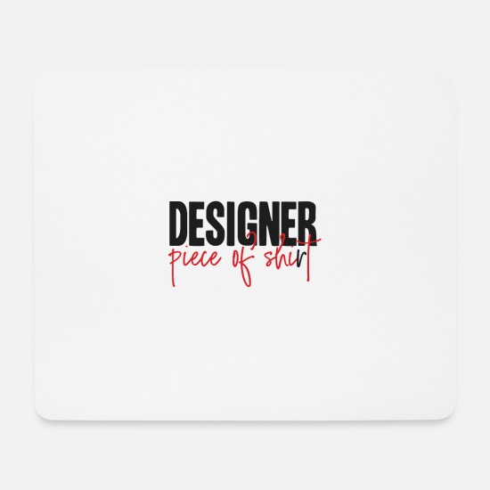 Art Mouse Pads - designer - Mouse Pad white