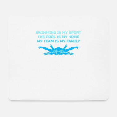 Swimming Swimming Pool Water Sports Graulen Gift - Mouse Pad