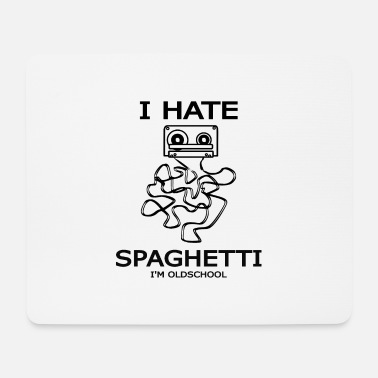 Band Salad I hate band salad or spaghetti - old school - Mouse Pad