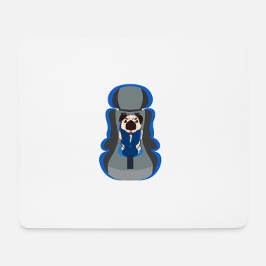 Carrier Pug carrier - Mouse Pad