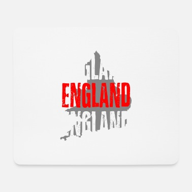 Angleterre Angleterre - Tapis de souris (format paysage)