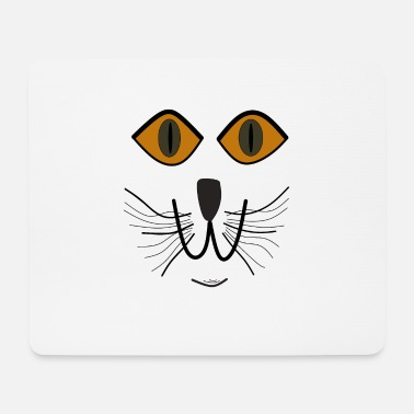 Cat Face Cats face - Mouse Pad