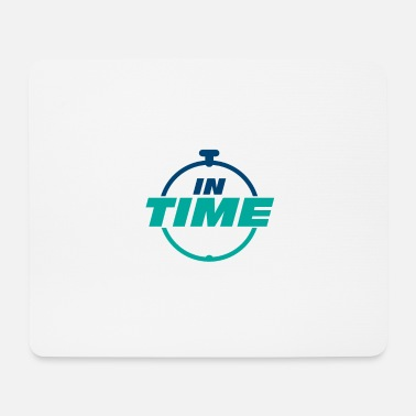 Times IN TIME On time In time clock - Mouse Pad