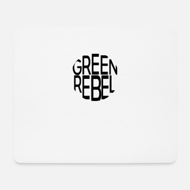 Greenrebel Greenrebel schwarz rund - Mousepad