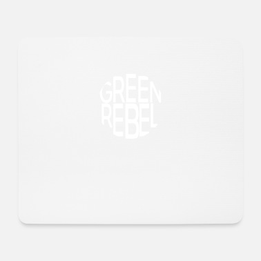 Greenrebel Greenrebel weiss - Mousepad