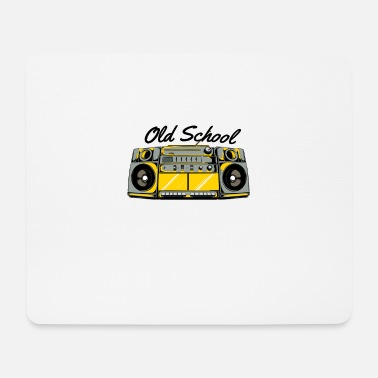 Old School Hip Hop Old School Boom Box For Hip Hop Music - Mouse Pad