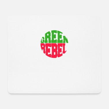 Greenrebel GREENREBEL grün rot - Mousepad