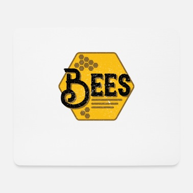 Bee Bees bees - Mouse Pad