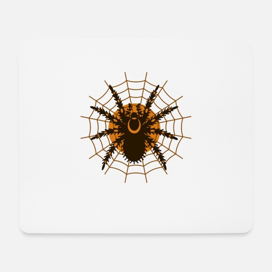 Toxic Mouse Pads - spider - Mouse Pad white