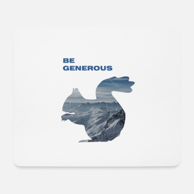 Generation be generous - Mouse Pad
