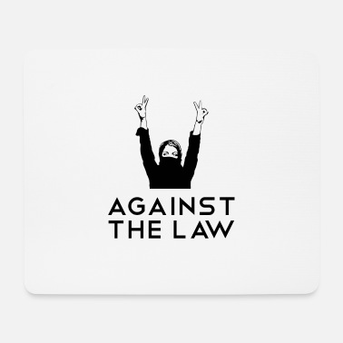 Repressed Against the Law Against the law - Mouse Pad