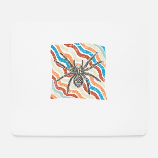 Birthday Mouse Pads - spider - Mouse Pad white