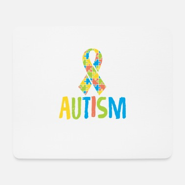 Autism Month Cute Autism Awareness for Autism Awareness - Mouse Pad