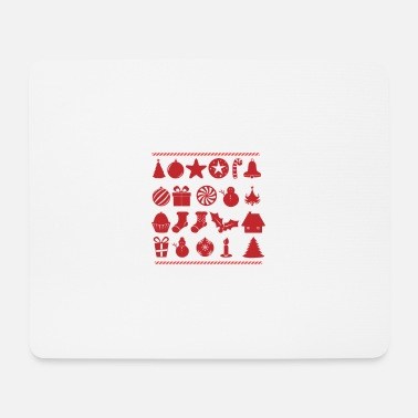 Frohes Fest FROHE WEIHNACHTEN FROHES FEST LIEBE - Mousepad