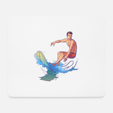 Casual Casual surfer - Mouse Pad