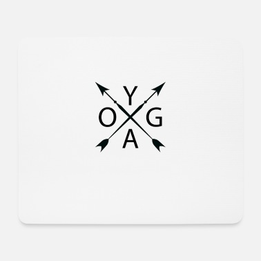 Asceticism Yoga, perfect gift, birthday - Mouse Pad