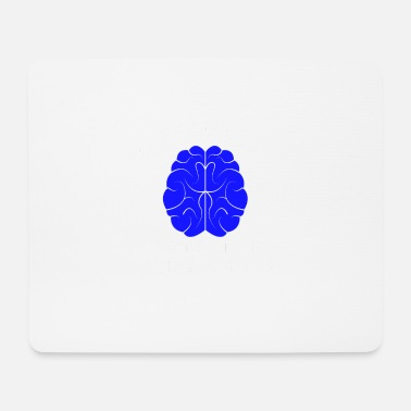 Bday Brain Brain Funny Nerd Tabs Browser Developer - Tappetino per mouse (orizzontale)