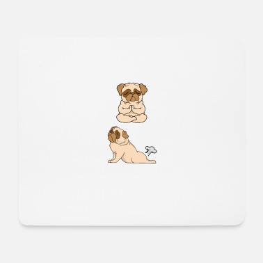 French Bulldog INHALE EXHALE Yoga - Mouse Pad
