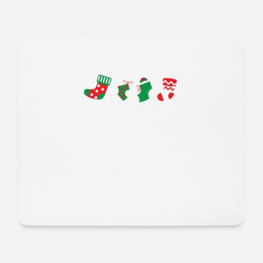Stocking Stuffer Assorted Christmas Stockings Happy Holidays - Mouse Pad