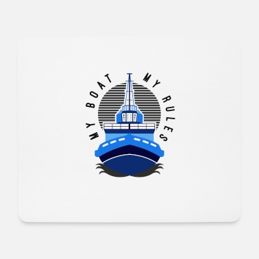 Boat Boating - Boating - Mouse Pad