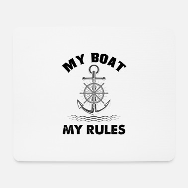 Boat Boat boating boat owner gift - Mouse Pad
