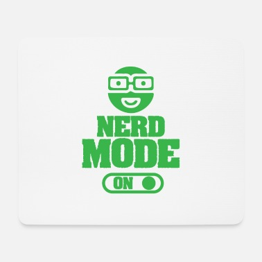 Nerd fashion on - Mouse Pad