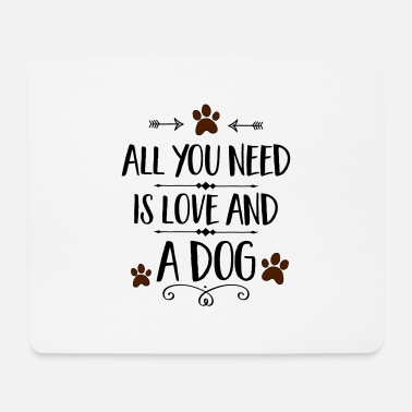 Dog Sayings Dog sayings - Mouse Pad