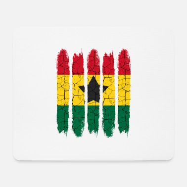 National Cadeau national Accra moderne Ghana National Colors - Tapis de souris (format paysage)