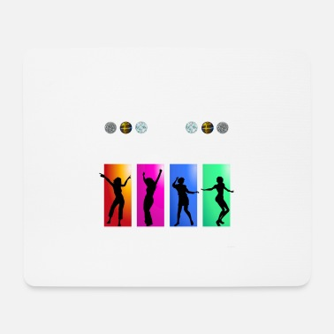 Dance Floor Rocking The Dance Floor - Mouse Pad