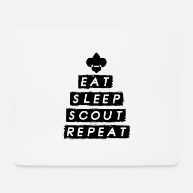 Boy Scouts Boy Scout Eat Sleep Scout - Mouse Pad