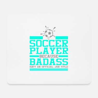 Porta Soccer Player Soccer Team Soccer Gift - Tappetino per mouse (orizzontale)