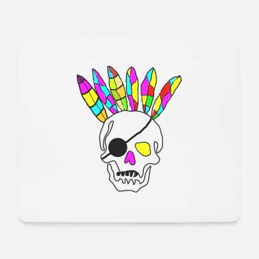 Redskin Skull Redskins! - Mouse Pad