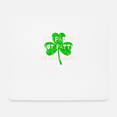 Eejit Feckin Eejit Distressed for St Paddy's Day - Mouse Pad