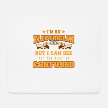 Electricity Electrician Electricity Electricity Electricity Gift - Mouse Pad