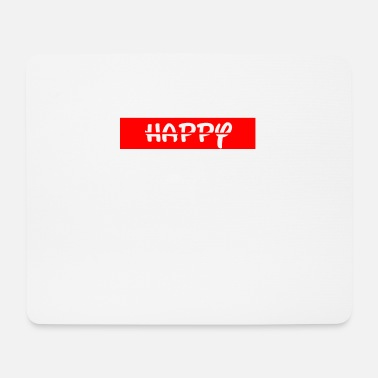 Happiness Happy / happy - Mouse Pad