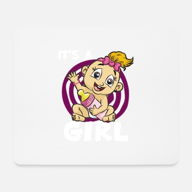 Vial IT SA GIRL baby girl daughter vial pink - Mouse Pad