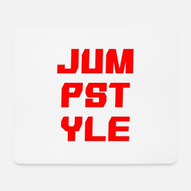 Jumpstyle JUMPSTYLE lettering - red - Mouse Pad