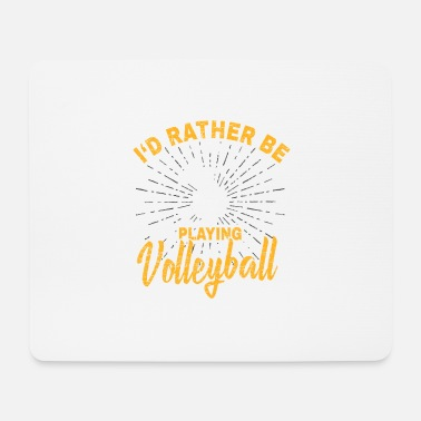 Bundesliga Volleyball player Bundesliga gift club - Mouse Pad