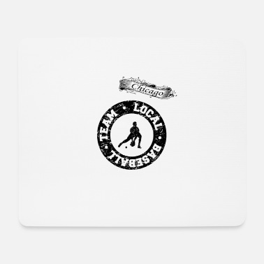 Chicago Local Baseball Team Chicago Spieler Team Trikot - Mousepad (Querformat)