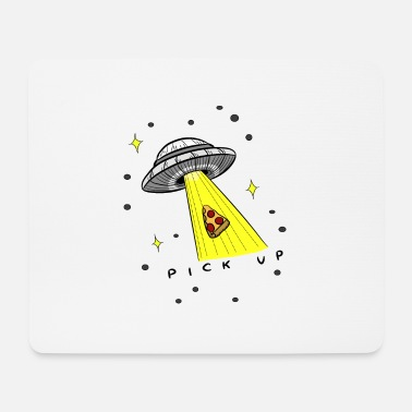 Pizza Ufo Pick Up - Mouse Pad