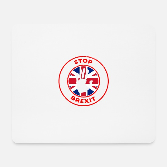 Birthday Mouse Pads - Stop Brexit - Mouse Pad white