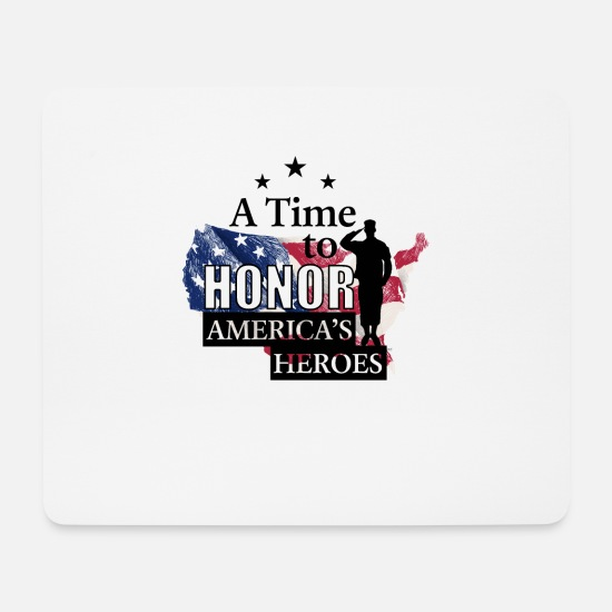Usa Mouse Pads - Memorial Day Soldier Memorial Day 2019 Shirt - Mouse Pad white
