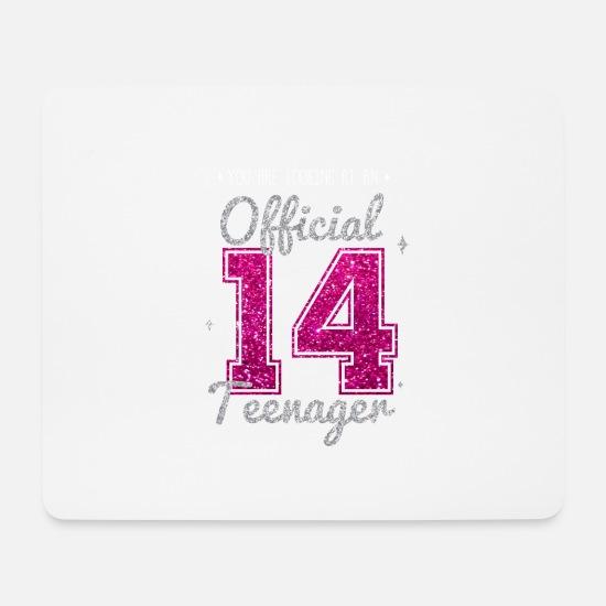 Teenager 14 Jahre 2005 14 Geburtstag Geschenk Mousepad Spreadshirt