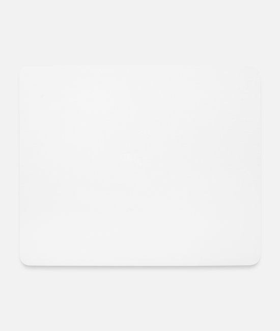 Cute Mouse Pads - Nope. Funny Reaction Pun - Mouse Pad white