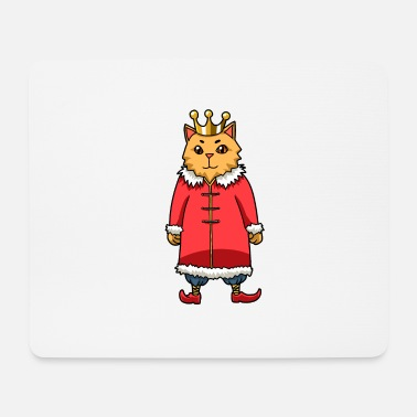 Fairy King Little cute cat a fairy king - Mouse Pad