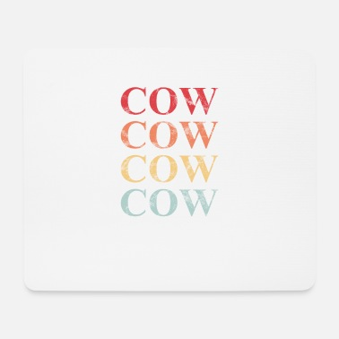Cow Cow Cow Cow Cow Cow - Mouse Pad