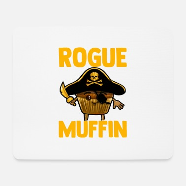 Beggar Pirate Muffin Rogue Funny kids birthday - Mouse Pad